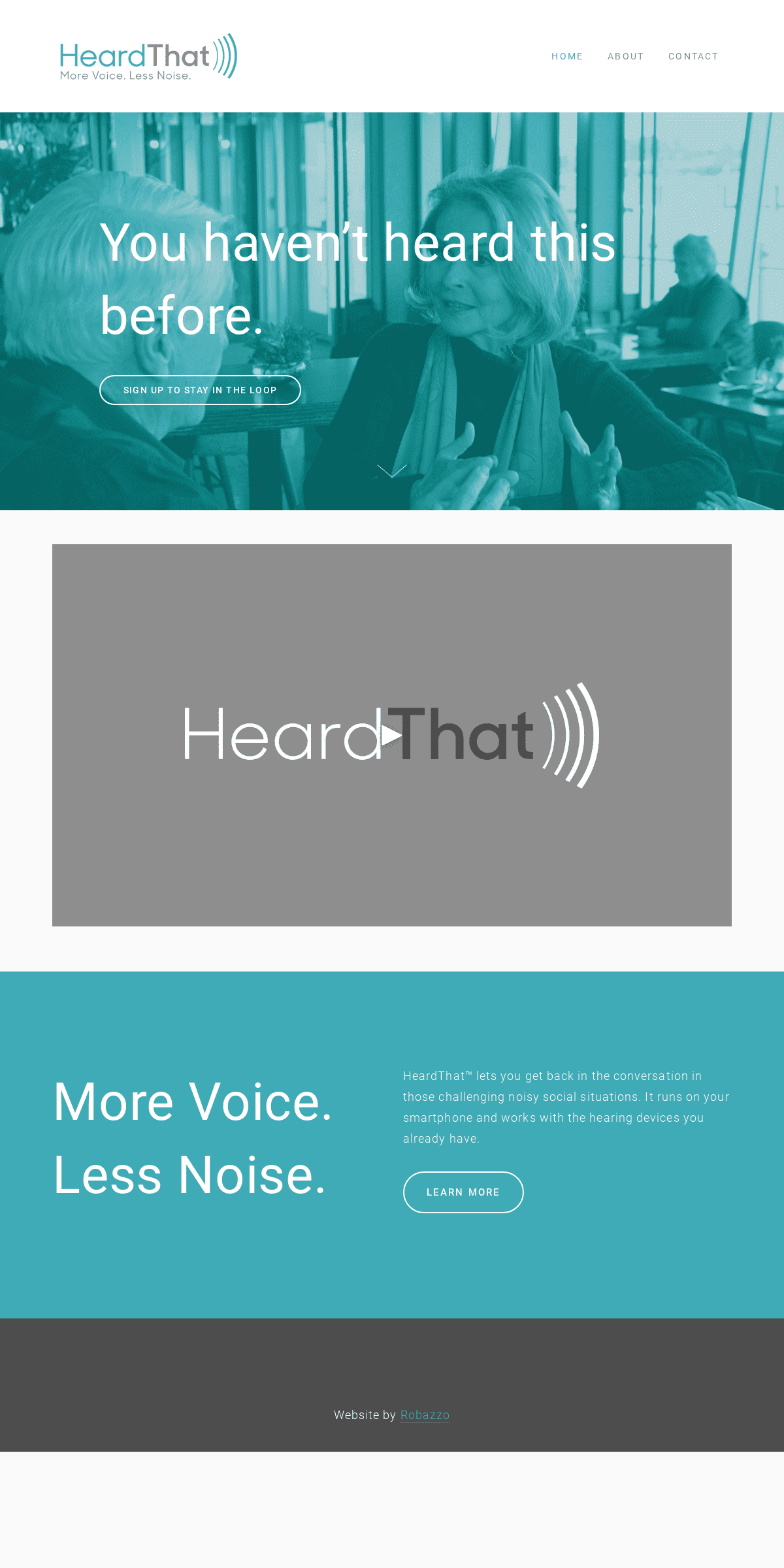 Hearing Assistive Technology - Smartphone App - HeardThat