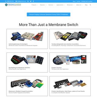 Membrane Keypad and Switch Manufacturer- Custom Membrane Keypads - Pannam