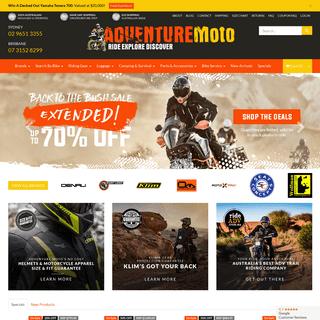 Australia's leading touring gear and ADV motorcycle specialists - Adventure Moto Australia