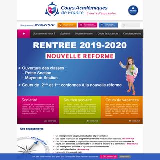 Cours Académiques de France