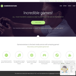 gamesrockstars.com - Unlimited Games
