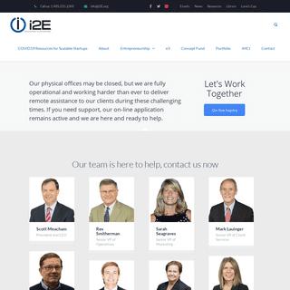 i2E - Innovation to Enterprise