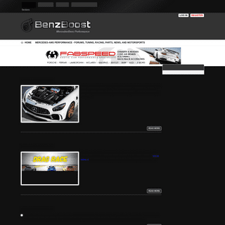 BenzBoost - Mercedes-AMG Performance - Forums, Tuning, Racing, Parts, News, and Motorsports