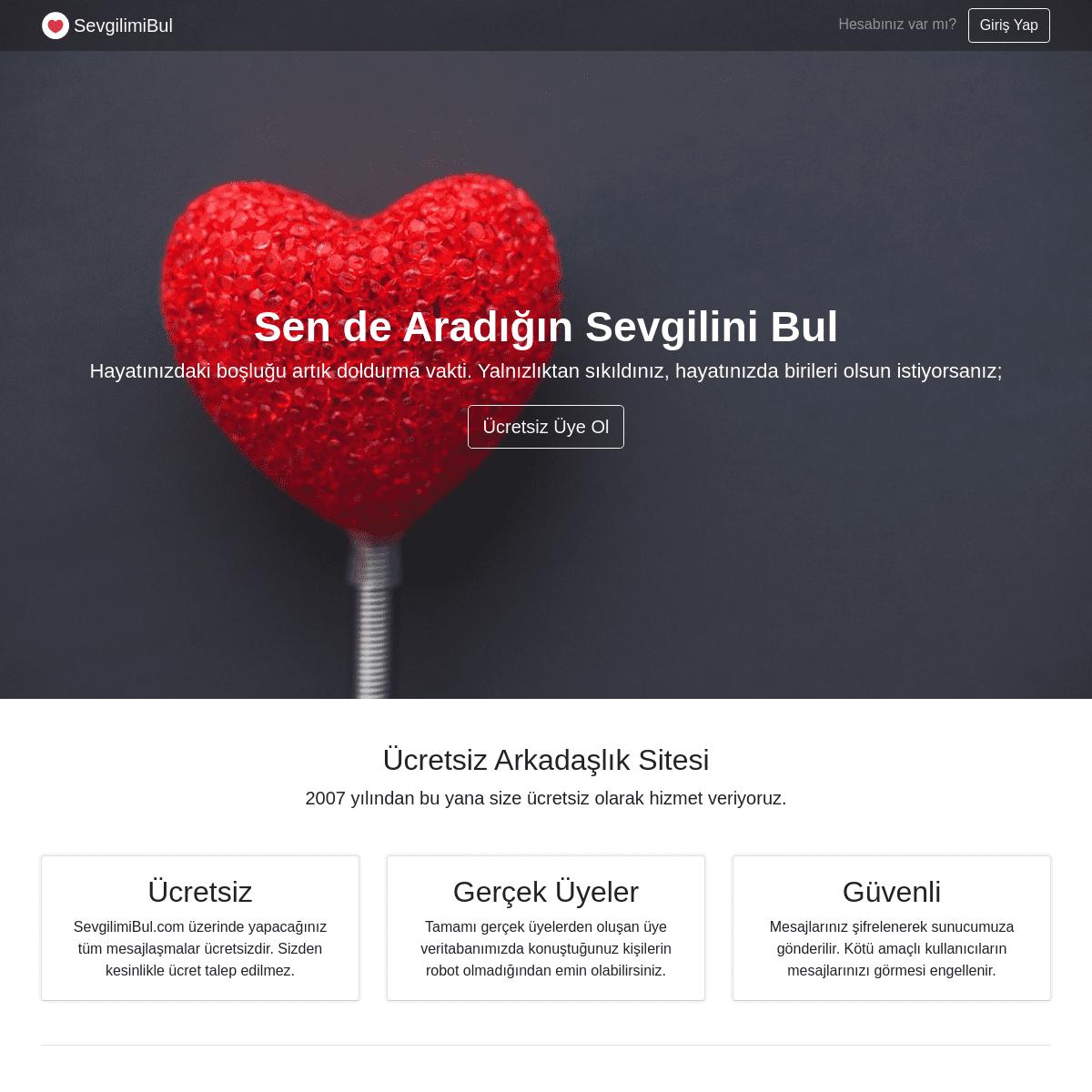 Arkadaşlık kur ücretsiz sitesi Bedava Chat