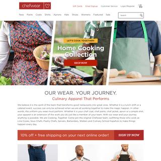 High-Quality Chef Wear Clothing & Work Uniforms - Chefwear