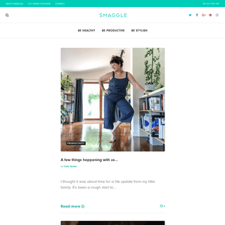Smaggle - Be Healthy, Be Productive, Be Stylish