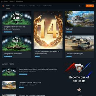 Home - World of Tanks Blitz
