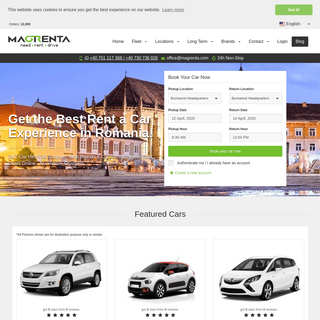 Rent a car in Romania. Cheap Car Rental Deals - Magrenta