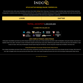 Indoqq - Situs Daftar Indo qq Online Terpercaya