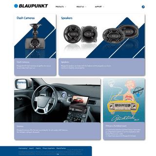 BLAUPUNKT- Blaupunkt USA - German innovation since 1924