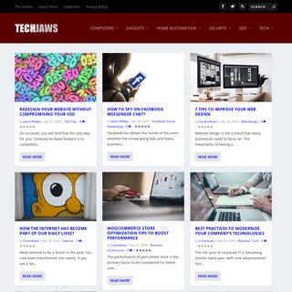 ArchiveBay.com - techjaws.com - TechJaws - SEO, Computer Security, Technology -