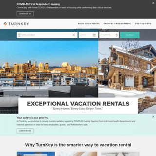 TurnKey Vacation Rentals - Premier Homes & Property Management