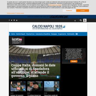 Calcio Napoli 1926 - Notizie sulla società sportiva calcio napoli, calciomercato napoli, partita napoli, ssc napoli