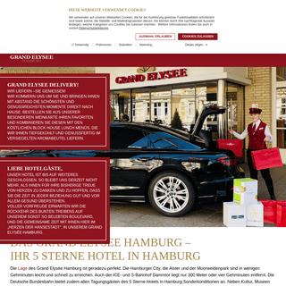 ArchiveBay.com - grand-elysee.com - 5 Sterne Hotel Hamburg - Grand Elysée Hotel