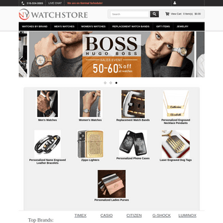 Wrist watch collections - Discount watches - Casio, Citizen, G-Shock, Fossil, Skagen Timex and more.
