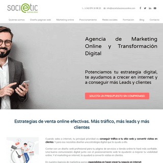 ArchiveBay.com - societicbusinessonline.com - Agencia de Marketing Online Zaragoza. SocieTIC Business Online