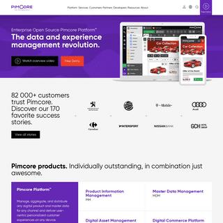 Open Source Data and Experience Management Platform - Pimcore