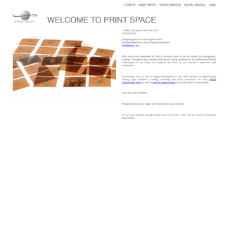 Welcome to Print Space