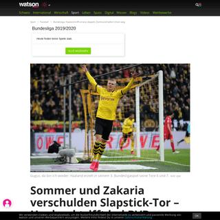 Bundesliga- Haaland trifft erneut doppelt, Dortmund ballert Union weg - watson