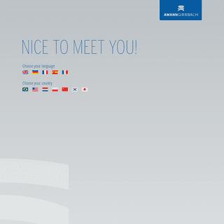 Nice to meet you! – amanngirrbach.com