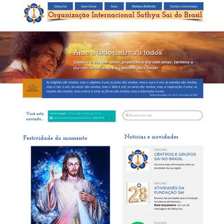OrganizaçãoInternacional Sathya Sai do Brasil