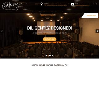 GATEWAY CONVENTION CENTER – Rent a Hall!