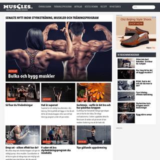 Muscles - Styrketräning, muskler, övningar och träningsprogram