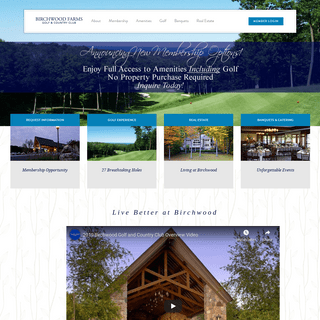 Home - Birchwood Farms Golf and Country Club