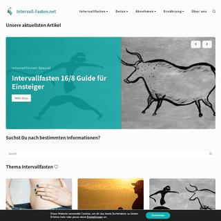 Intervall-Fasten.net - Dein Experten-Portal für Fasten und Gesundheit.