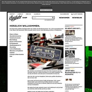 Klangfarbe Online Shop
