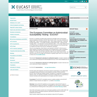 EUCAST- EUCAST
