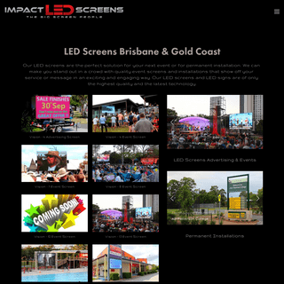 LED Advertising Signs in Gold Coast, Brisbane, LED Event Screen