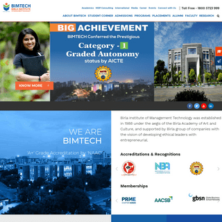 ArchiveBay.com - bimtech.ac.in - BIMTECH- Best Business School in India- Top Management College