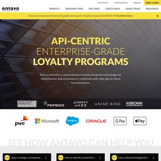 Antavo Loyalty Management Platform - Loyalty Programs for Retail