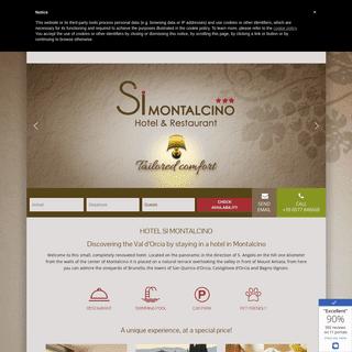 Si Montalcino Hotel & Restaurant - Official website - Alberghi a Montalcino