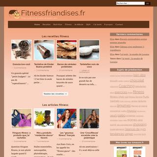 Fitnessfriandises.fr - Desserts, Fitness et Musculation