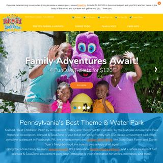Pittsburgh's Best Amusement Park & Water Park for Kids & Families - Idlewild & SoakZone