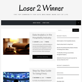 ArchiveBay.com - loser2winner.com - Loser 2 Winner – The Top Community For Guys Who Want More Out Of Life