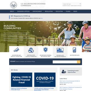 SEC.gov - HOME
