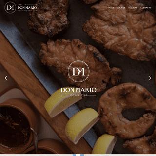 Don Mario - Parrilla y Restaurant – Don Mario es un restaurante que desde hace años es una tradición en Mendoza y máximo ex