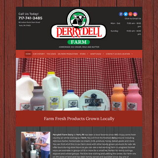 Local Dairy Farm - York, PA - Perrydell Farm Dairy