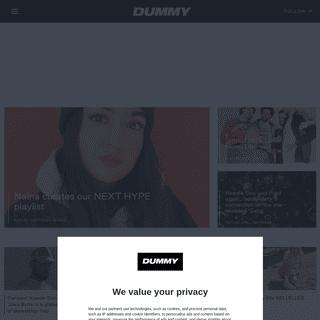 HomePage - Dummy Mag