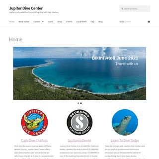 ArchiveBay.com - jupiterdivecenter.com - Jupiter Dive Center, Scuba Classes and Jupiter Dive Charters