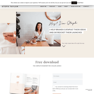 Steph Taylor - Small business marketing resources and blog