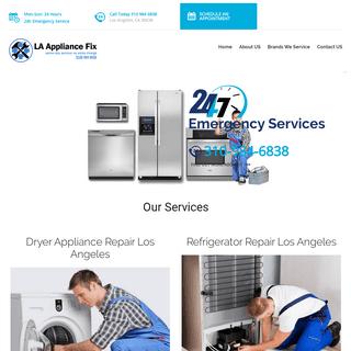 Appliance Repair Los Angeles Home - Appliance Repair Los Angeles