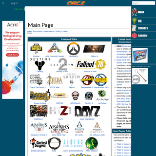Orcz.com, The Video Games Wiki
