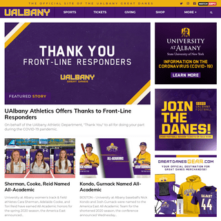 University at Albany Great Danes - Official Athletics Website