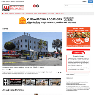 ladowntownnews.com - The Voice of Downtown Los Angeles