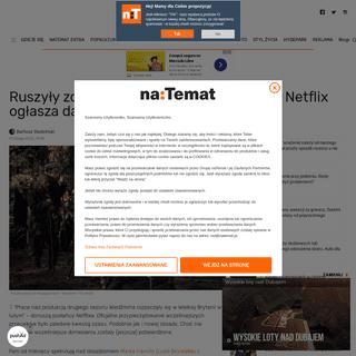 Kiedy premiera 2. sezonu -Wiedźmina-- Netflix ogłasza nową obsadę serialu - naTemat.pl