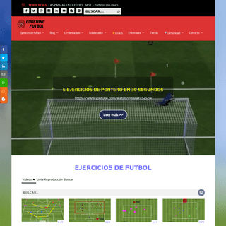 COACHING FUTBOL ▷Ejercicios y consejos al entrenador de futbol